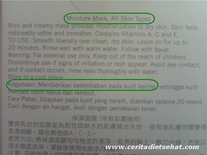 Nourifusion Multivitamin Moisture Mask