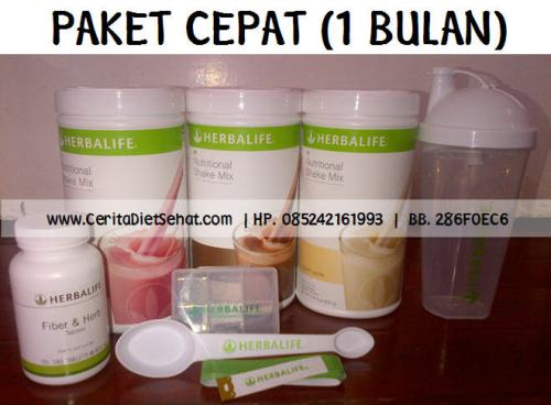 paket cepat herbalife makassar