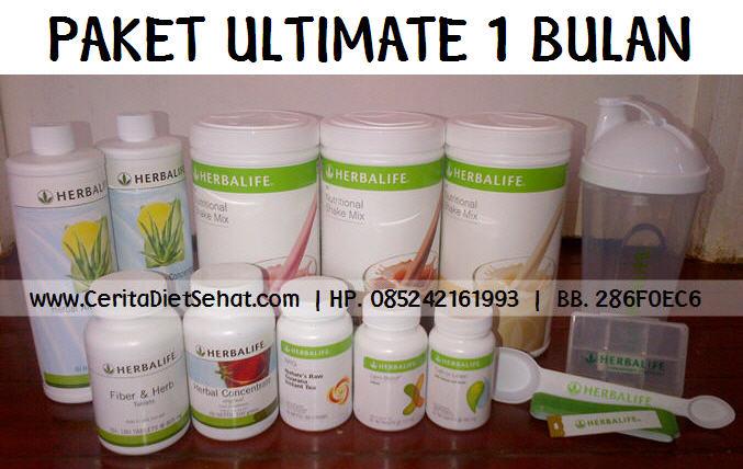 Paket paling cepat ultimate herbalife makassar