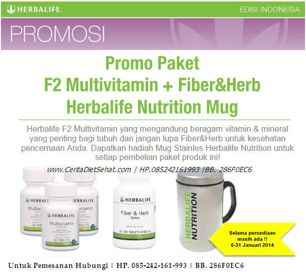 Promo Herbalife 2014 Multivitamin