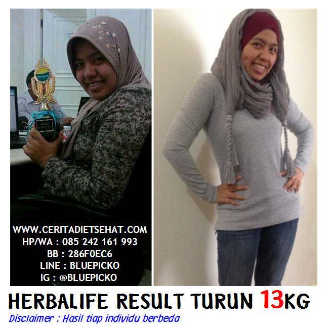 Before After Herbalife 02